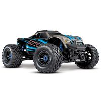 Traxxas 1/10 Maxx 4S 4WD VXL-4S Brushless 4x4 Monster Offroad RC Truck RTR Blue w/ TSM TQi Radio 890
