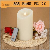 New 3d moving wick led candle