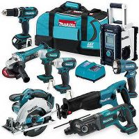 Makita LXT902 18-Volt LXT Lithium-Ion 9-Piece Combo Kit