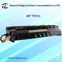 Wholesale Compatible Toner Cartridge HP 7553A for HP P2015/2014/2727/Canon LBP3318