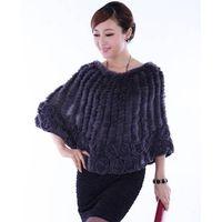 2013 new style rex rabbit fur shawl