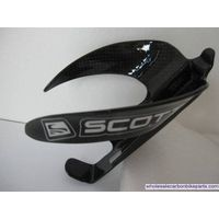 Scott Carbon Bicycle Water Bottle Cage Holder 3K Glossy