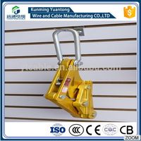 Aluminum Alloy Cable Wire Grip/Come Along Clamp/ Insulation card lines 25-400mm²
