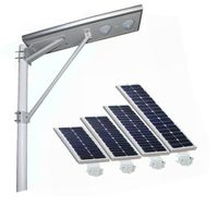 All in one solar lighting integrated design 8w-40w