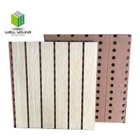 Perforated Wooden MGO Acoustic Panels