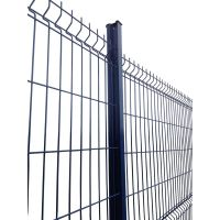 hot dip galvanized wire mesh fence