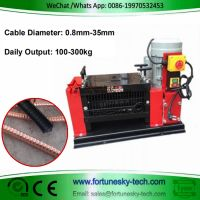 K308 Scrap Wire Cable Stripping Machine/Scrap Copper Recycling Machine thumbnail image