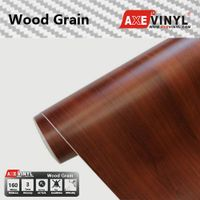 Axevinyl Factory Direct Sale Car Wrap Vinyl Premium Quality Wood Grain Vinyl Wrap Film 1.52X30m