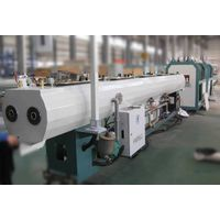 high output pvc pipe production line with HYMAX extruder