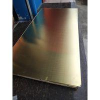 copper alloy sheet (plate) H62,H65,H68,brass sheet (plate)