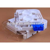 2 ports Mini FTTH terminal box/mini optical terminal box/high quality optical terminal box