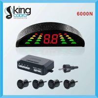 2014super parking sensor systemcar parking sensor system with LED wave and super sensitivity coche s