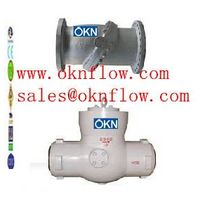15 A217-C5/WC6/WC9 butt welded check valve