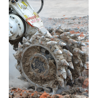 drum cutter for excavator attachment thumbnail image