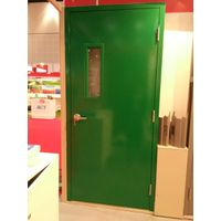 hollow metal door and frame with narrow vision glass for commercial and residential co