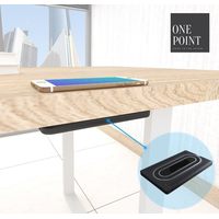 2019 New QI Fast Wireless Charger for iPhone/Samsung Under the Table Invisible thumbnail image