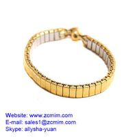 Ladies Watch Band Stainless Steel Fancy Style Expandable Band machining