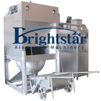 Aluminum dross processing machine