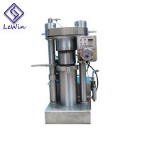 sesame hot press hydraulic oil extraction machine for sale