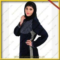 2014 Newest muslim women abaya  made of 100% polyester  KDT - 1004 thumbnail image