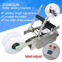 ZONESUN LT-50 Round Plastic bottle labeling machine round bottle sticker machine thumbnail image