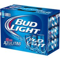 Bud Light Platinum beer 33cl bottle & 50cl can thumbnail image