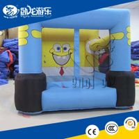 PVC inflatable bouncer, inflatable baby trampoline, cheap bouncy castle