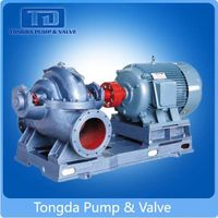 Big Capacity Centrifugal Double Suction Pump