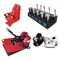 Dye sublimation heat press machine heat transfer machine
