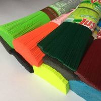 PET broom filament, varous colors for your choice
