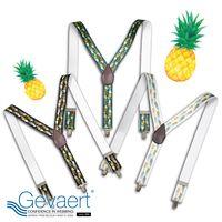 [GEVAERT] Suspenders 35mm Y-type pine