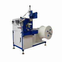 Hot air welding spiral winding machine