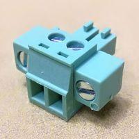 3.5mm/3.81mm Terminal Block 2Pin Pluggable Connector thumbnail image