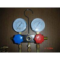 Aluminum manifold gauge for R12.R22.R134A.R410A