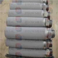 Titanium(TI) powder Sintered 10 micron filter cartridge thumbnail image