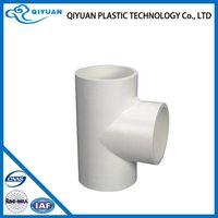 PVC Plastic Drainage 90degree tee pvc fitting
