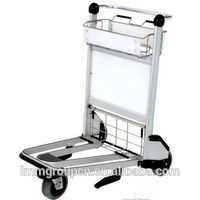 airport luggage trolley with brake convenient thumbnail image