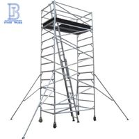 Internal Ladder Aluminum Scaffolding/ Ascending Mobile Scaffolding Tower thumbnail image