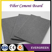 Waterproof reinforced fiber cement board