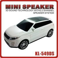 portable Land Rover Car shape mini digital speaker