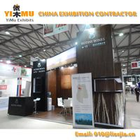 Private Stand Construction in ProWine China Show in Shanghai