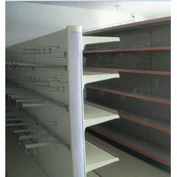 Supermarket back hole panel shelf