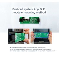 Smart Digital App door lock BABA-8100 Swipe Card Code Opening Electronic Door Locks Mobile App thumbnail image