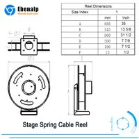 EB800 Stage Spring Cable Reel thumbnail image