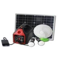 SOLAR HOME SYSTEM - Portable Solar Power Generator with LED Light by Solar Energy