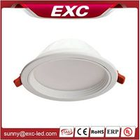 white color temperature (CCT) 7w led downlight luminaire