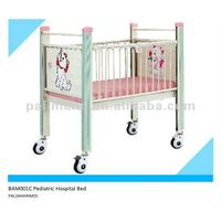 With Cartoon picture, hospital pediatric bed