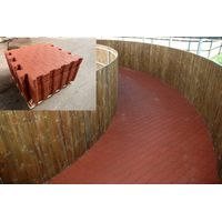 Interlocking Rubber Floor, Interlocking Rubber Gym Floor, Fitness Center Floor