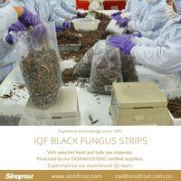 IQF Black Fungus Strips/Frozen Black Fungus Strips/IQF Mushrooms thumbnail image