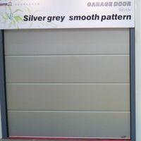 Finger safe garage door, CE